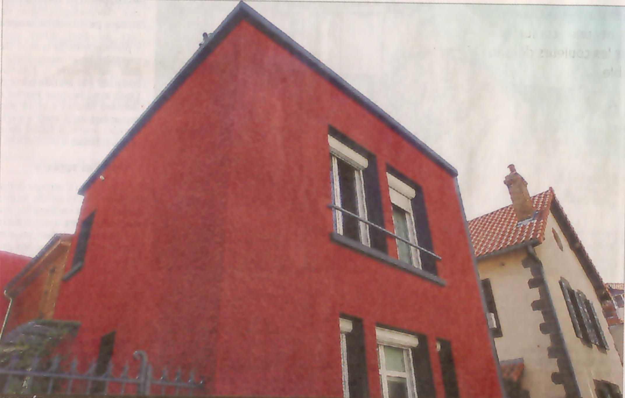 L urbanisme clermont ferrand at les irr ductibles gaulois contre les polit - Enduit sur brique rouge ...